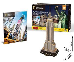 3 D Puzzle CubicFun  Empire State Building  66 dílků
