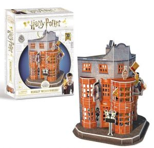 3 D Puzzle CubicFun  - Harry Potter Kouzelný  domek   21007  62 dílků