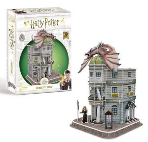 3 D Puzzle CubicFun  - Harry Potter  Gringottova banka  21005  70  dílků