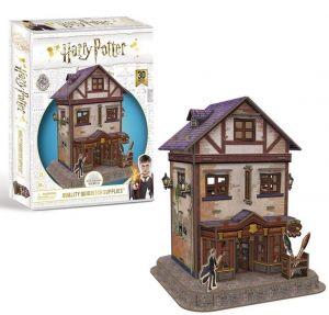 3 D Puzzle CubicFun  - Harry Potter  Obchod s kouz.potřebami    21008  77  dílků