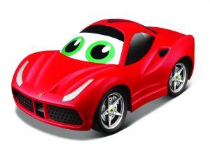 Bburago - IR auto Ferrari  458 Italia  na dálkové ovládání  - červené
