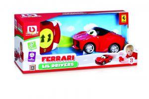 Bburago - IR auto Ferrari na dálkové ovládání - červené