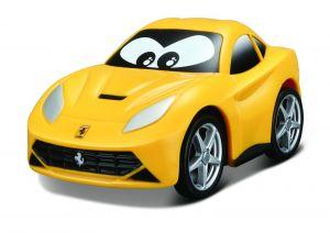 Autíčko Bburago  3,5''  ( 9 cm )  - Ferrari  Berlinetta - žluté