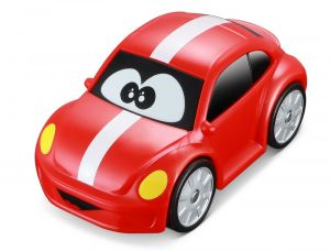 Autíčko Bburago 3,5'' ( 9 cm ) - Volkswagen Beetle - červené