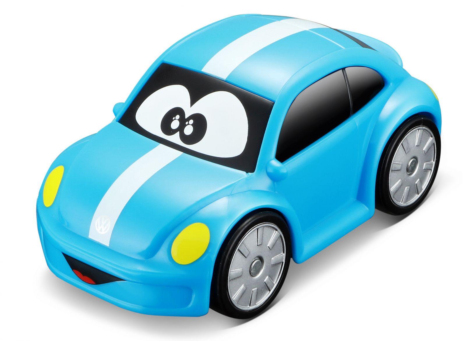 Autíčko Bburago 3,5'' ( 9 cm ) - Volkswagen Beetle - modré