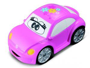 Autíčko Bburago  3,5''  ( 9 cm )  - Volkswagen Beetle - růžové