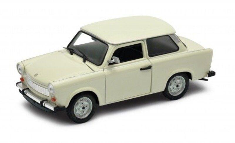 Auto Welly 1:24 Trabant 601 - béžový