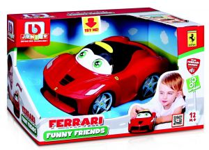 Bburago - autíčko s pohyblivýma očima - LaFerrari - červené
