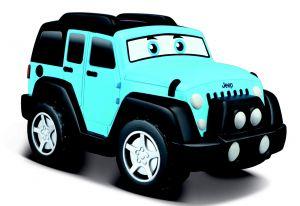 Bburago - IR auto Jeep Wrangler   na dálkové ovládání  - modré