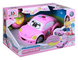 Bburago - IR auto VW Beetle na dálkové ovládání - růžové