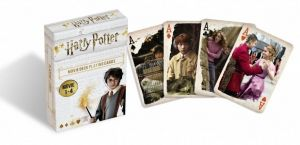 Cartamundi  - hrací karty  Harry Potter   - z  filmů 1-4  55  karet
