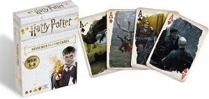 Cartamundi  - hrací karty  Harry Potter   - z  filmů 5-8  55  karet