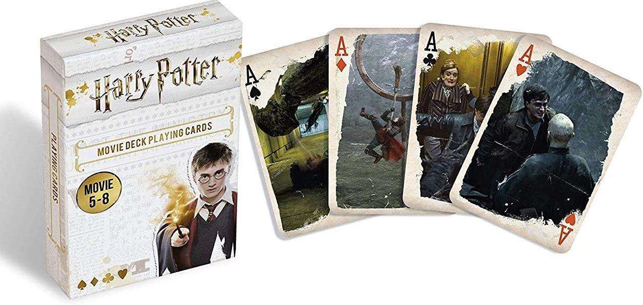 Cartamundi - hrací karty Harry Potter - z filmů 5-8 55 karet Goggess