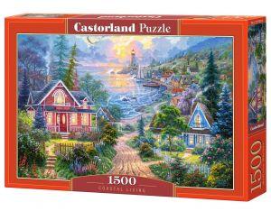 Castorland - Puzzle 1500 dílků  -  Pobřežní život art. 151929