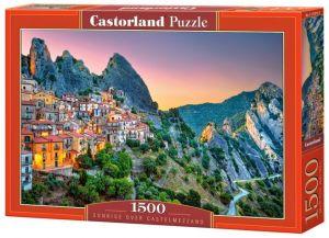 Castorland  Puzzle 1500 dílků  Východ slunce nad  Castelmezzano  151912