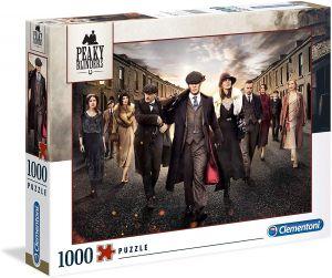 Clementoni Puzzle 1000 dílků  - Netflix Peaky Blinders -  Gangy z Birminghamu  39570
