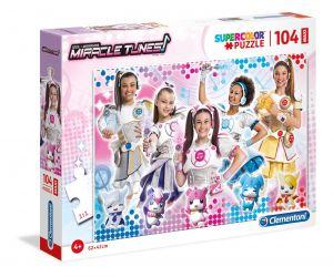 Clementoni puzzle 104 dílků MAXI - Miracle Tunes  23737