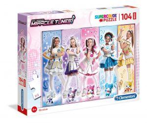Clementoni puzzle 104 dílků MAXI - Miracle Tunes  23736