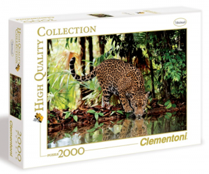 Clementoni puzzle 2000 dílků Leopard