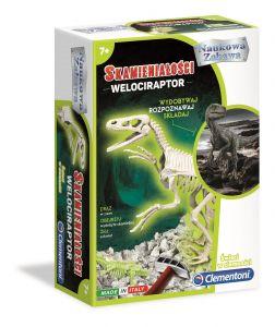 Clementoni zkameněliny - Velociraptor  50639