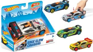 Hot Wheels Blazing Cruisers Quick N´Sik Blue světlo a zvuk Mondo
