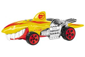 Hot Wheels Street Creatures Sharkruiser Yellow světlo a zvuk