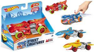Hot Wheels Street Creatures T-Rextroyer Blue světlo a zvuk Mondo