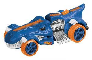 Hot Wheels Street Creatures T-Rextroyer Blue světlo a zvuk