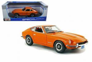 Maisto 1:18   1970 Datsun  240Z - oranžová  barva