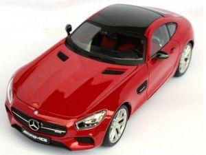 Maisto 1:18 Exclusive  - Mercedes AMG  GT  -  červená  barva