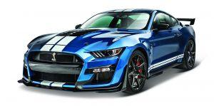 Maisto 1:18  Ford Mustang Shelby  GT500 2020 - modrá  barva