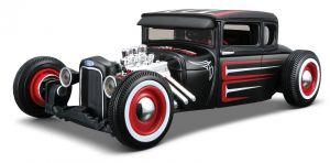 Maisto  1:24 Kit  Design  - 1929 Ford Model A  - model  ke skládání  - černá  barva