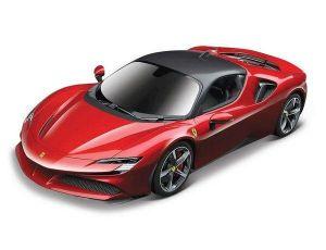 Maisto - RC auto -  USB dobíjení  Ferrari SF90  Stradale 1:24 - červené