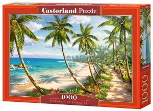 Puzzle Castorland  1000 dílků - Cesta do ráje  104666