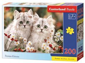 Puzzle Castorland 200 dílků premium  - Perské koččičky  222131