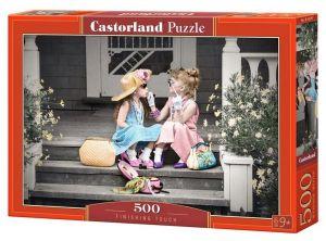 Puzzle Castorland 500 dílků - Holčičky na schodech 53247
