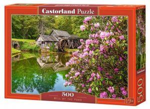 Puzzle Castorland 500 dílků - Mlýn u rybníka 53490