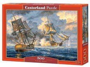 Puzzle Castorland 500 dílků - Námořní bitva 53483