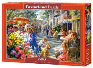 Puzzle Castorland 500 dílků - Street of Dreams  53438
