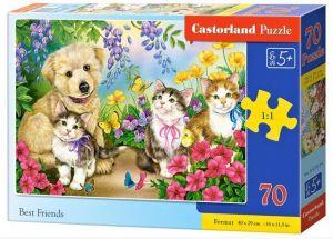 Puzzle Castorland 70 dílků premium  - Nejlepší přátelé 070114