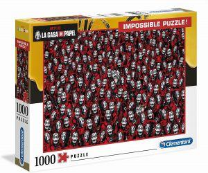 Puzzle Clementoni 1000 dílků - Nekoneční - Netflix  Papírový dům 39527