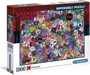 Puzzle Clementoni 1000 dílků - Nekoneční - Netflix  Stranger Things  39528