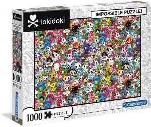 Puzzle Clementoni 1000 dílků - Nekoneční  Tokidoki  39555