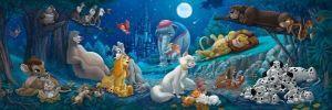 Puzzle Clementoni 1000 dílků  panorama - Disney zvířátka   V2 98930
