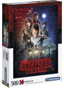 Puzzle Clementoni 500 dílků  - Netflix - Stranger Things 35086