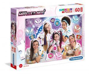 Puzzle Clementoni 60 dílků MAXI   -  Miracle Tunes 26449