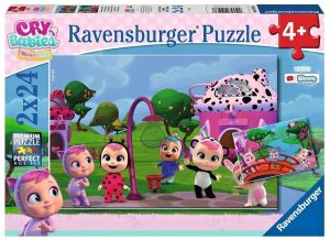 Puzzle Ravensburger  2x24 dílků  - Cry Babies Magic Tears 051038