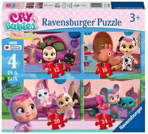 Puzzle Ravensburger  4v1 12, 16, 20 a 24  dílků  Cry Babies Magic Tears  030521