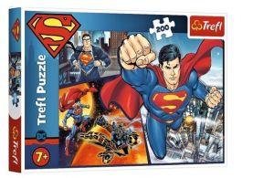 TREFL Puzzle  200 dílků - Superman  13266