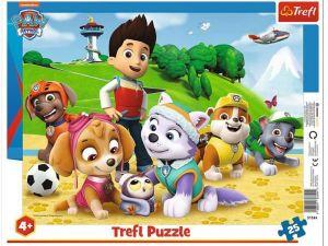 Trefl puzzle rámkové 25 dílků - Paw Patrol  31344